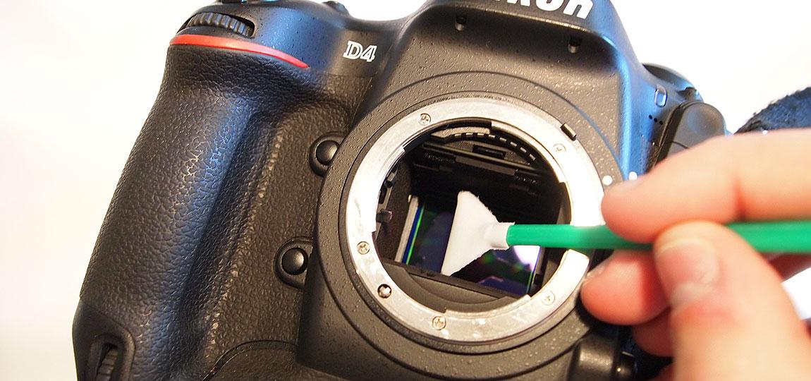 Clean your camera sensor