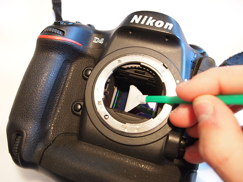 Clean Camera Sensor Nikon