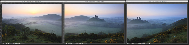 How to stitch a panoramic image