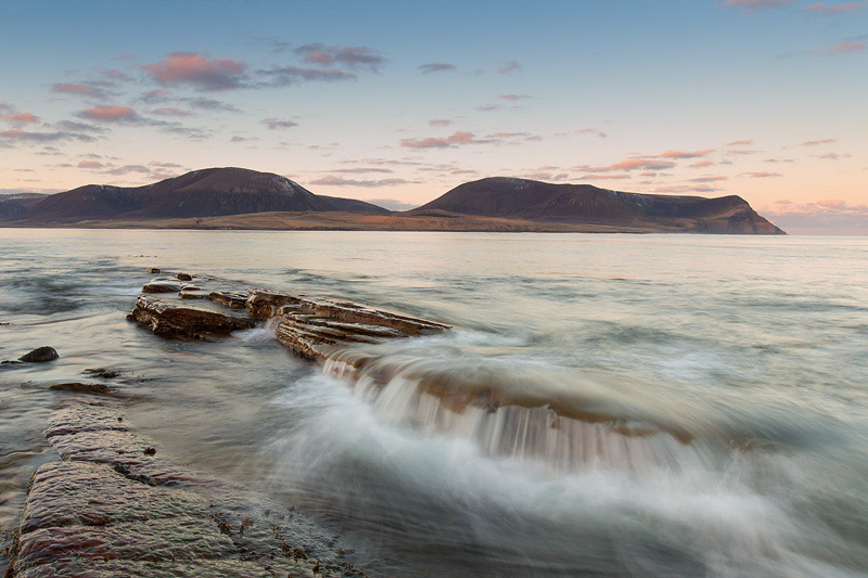 how to expose landscapes water