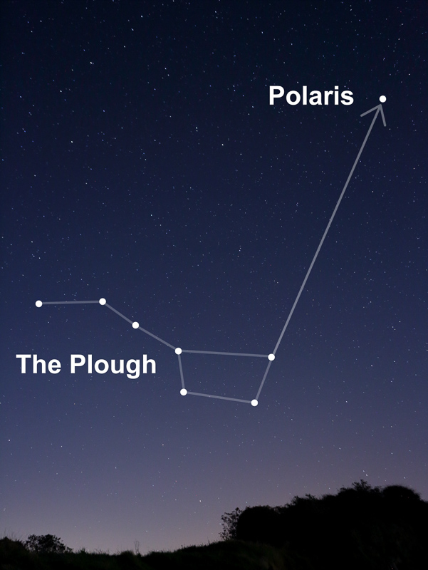 how to find polaris