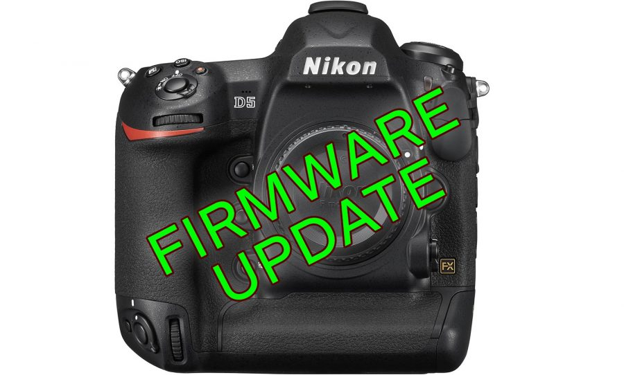 Nikon D5 Firmware Update: Electronic VR, Longer 4K Video and