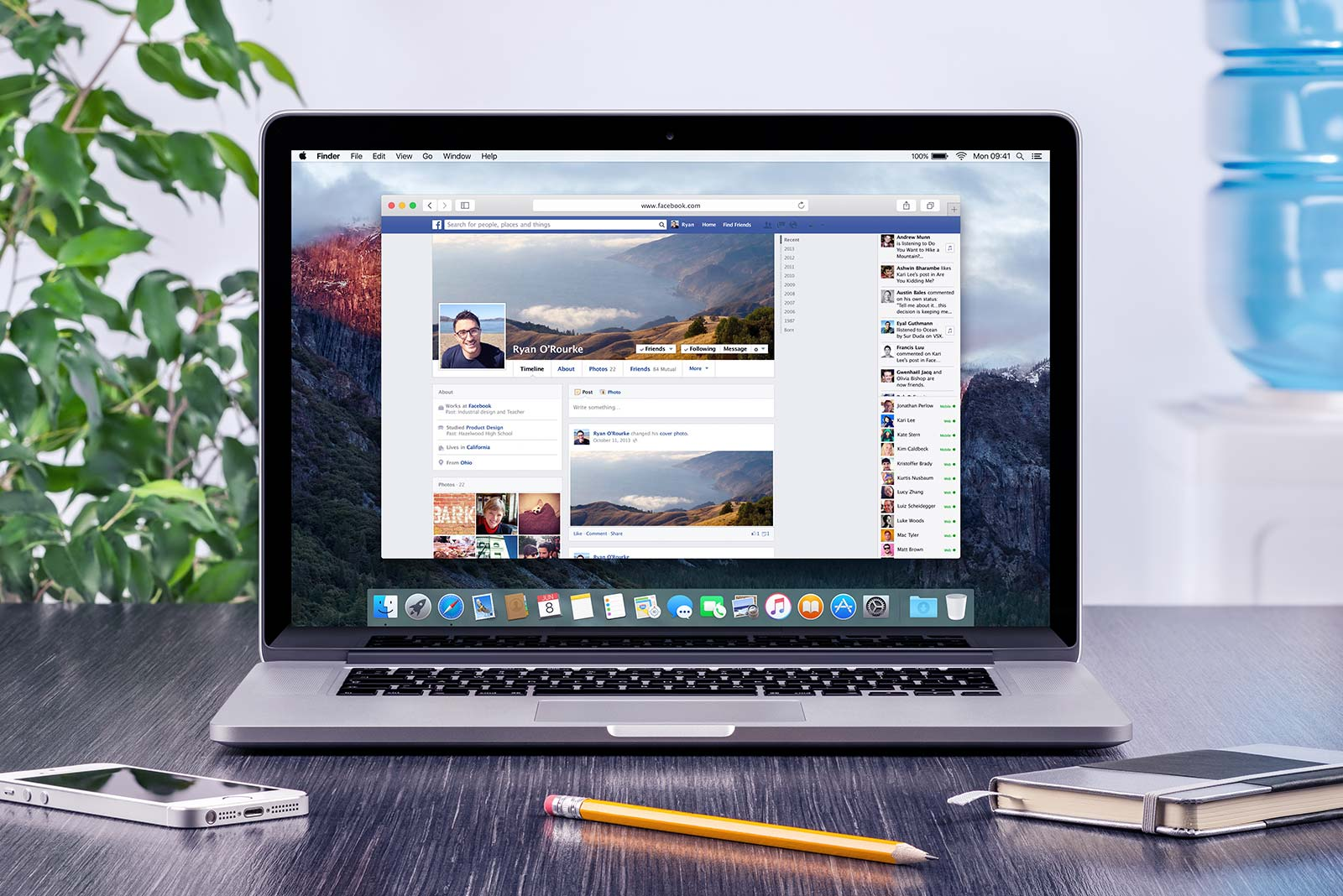 setting up a Facebook page tips