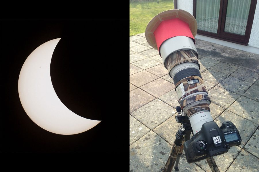 How to Make a Solar Eclipse Filter for a Telephoto Lens   Nature TTL