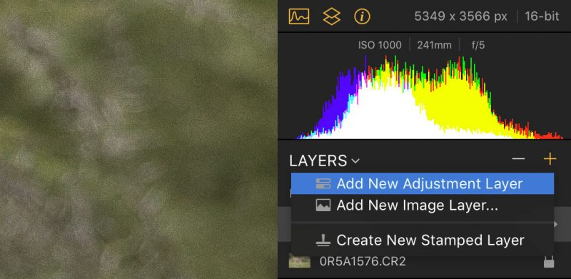 how to reduce noise luminar 2018