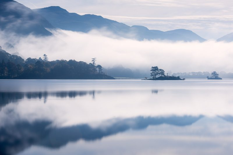 Lake District mist in autumn