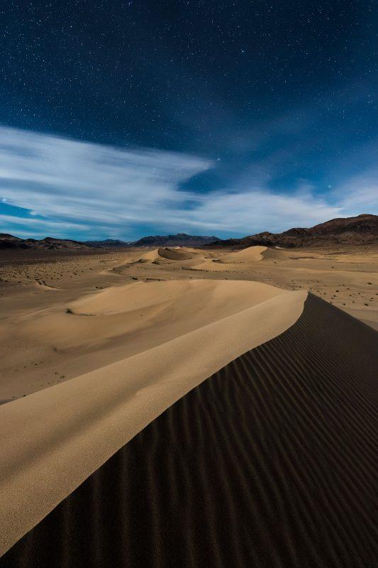 moonlight in desert