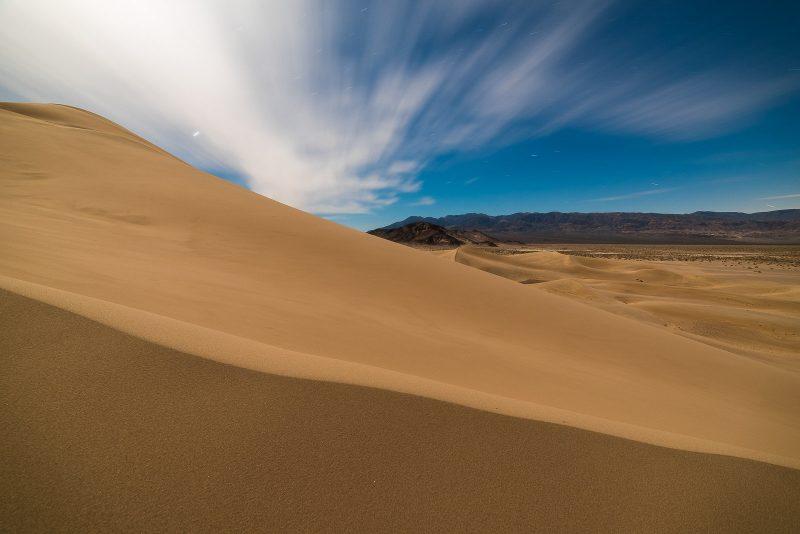 desert night photography