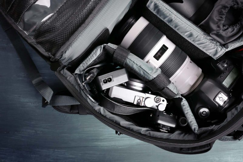 how to fly with camera gear
