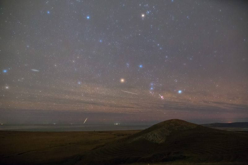 photograph meteor showers