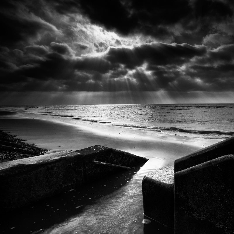 black and white landscape photos