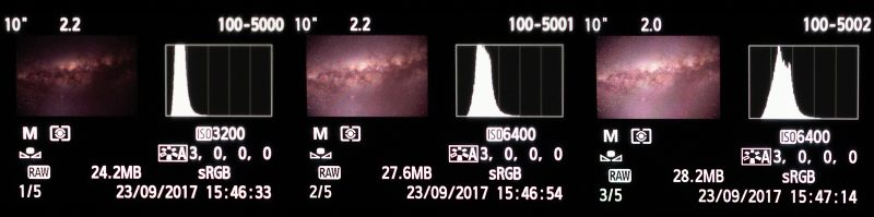Histogram Better Night Photos
