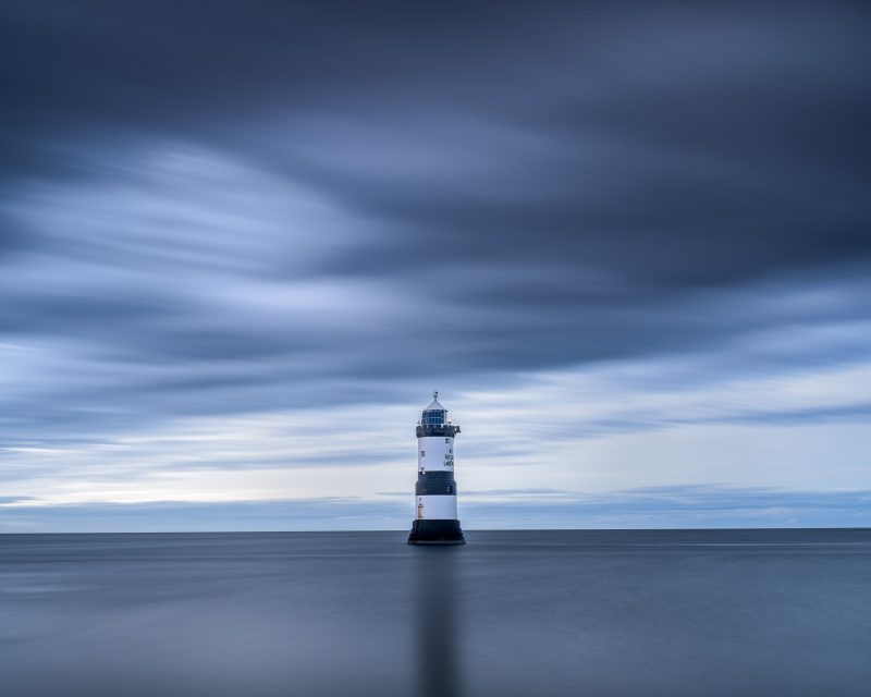 Lighthouse in Anglesey photographed using the Fuji GFX100