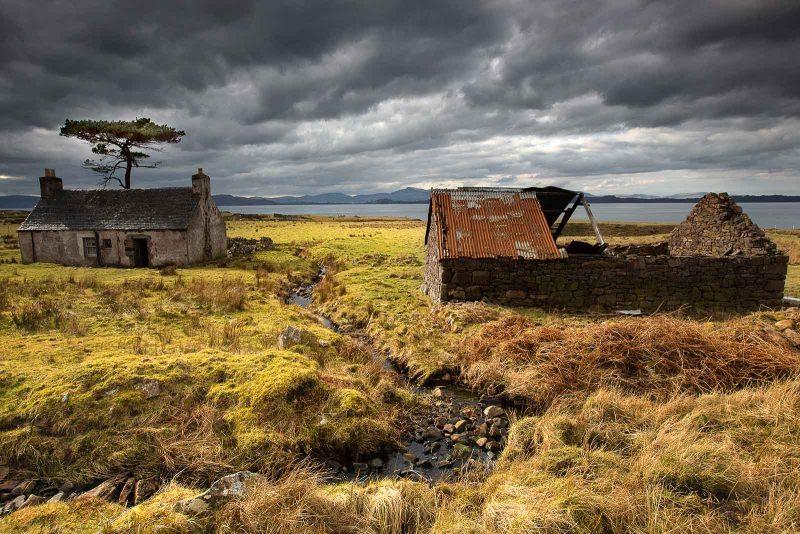An abandoned Scottish Croft