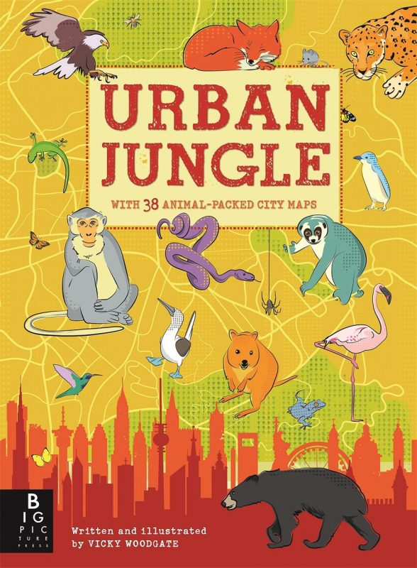Top Ten Books For Nature Photographers this Christmas: Urban Jungle Vicky Woodgate