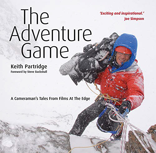 Top Ten Books For Nature Photographers this Christmas: The Adventure Game by Keith Partridge