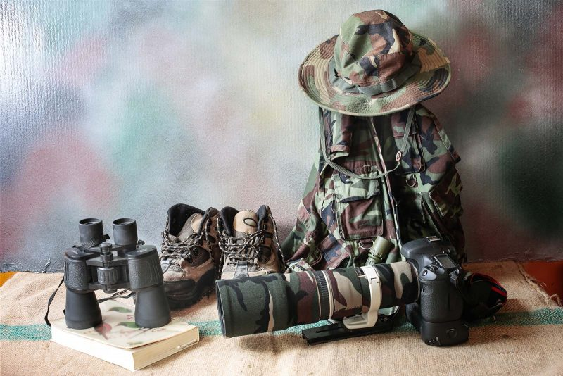explorer photography gear