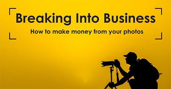 breaking into business photography ebook front cover