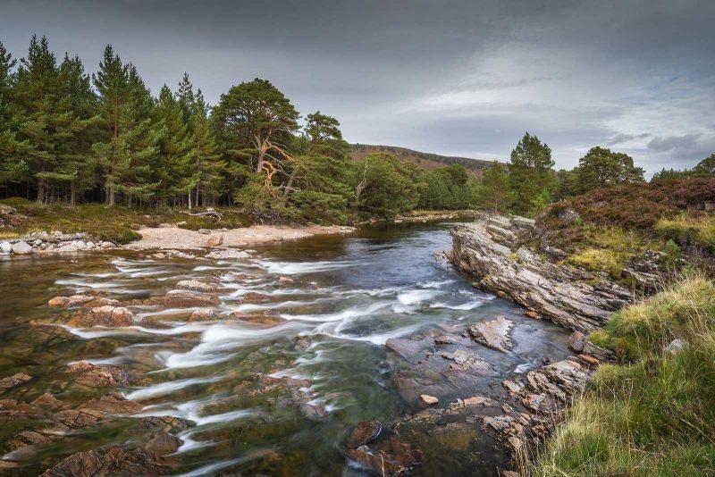 Landscape photograph of Linn of Dee, Scotland