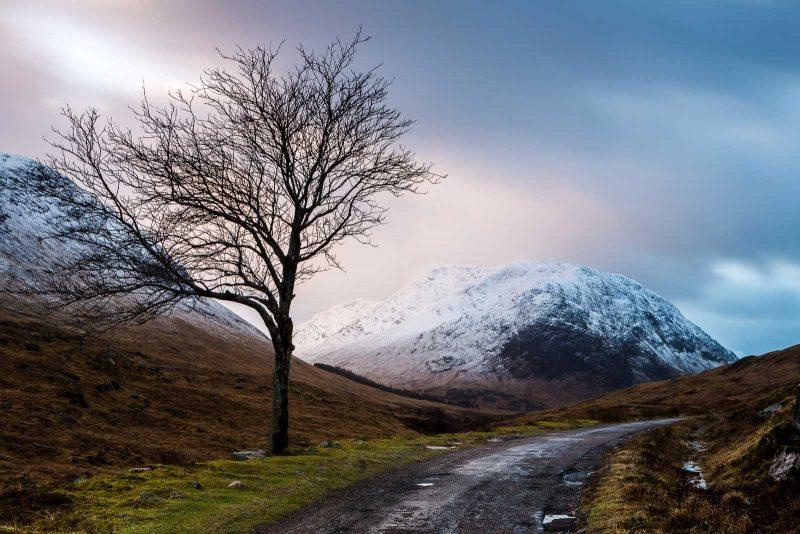 Glen Etive landscape, Scotland