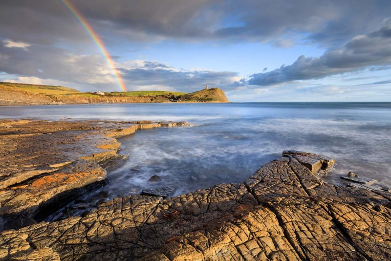 western ledges at Kimmeridge Bay