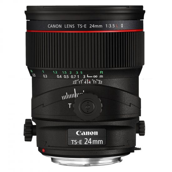 Canon TS-E 24mm Tilt Shift Lens suitable for panoramas