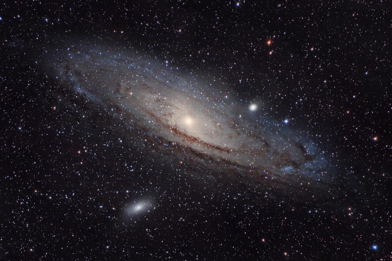 Star Photography showing Andromeda