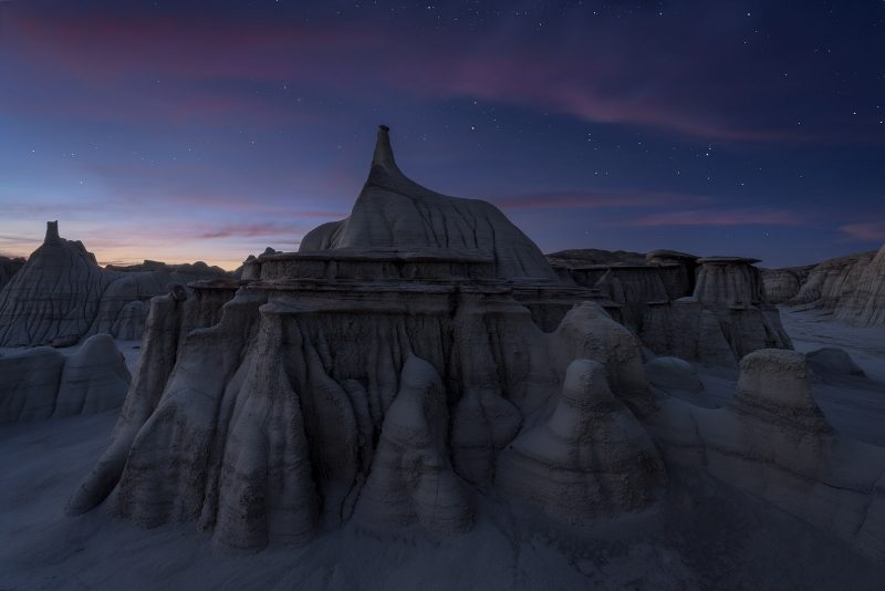 Stars over the Bisti De-Na-Zin Wilderness
