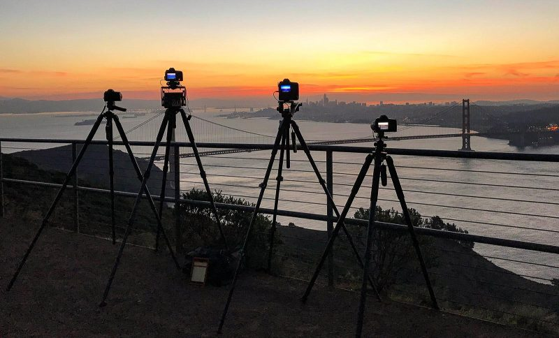 Timelapsing the sunrise in San Francisco