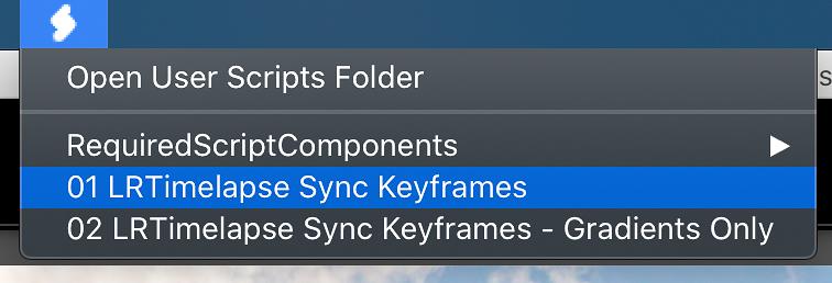 LRTime-lapse Sync Keyframes