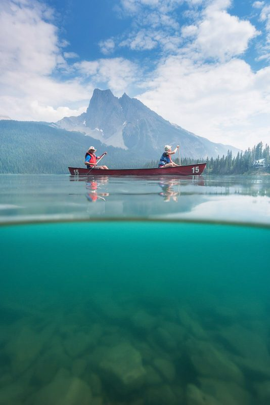 Emerald Lake, one of the best locations for landscape photography in canada