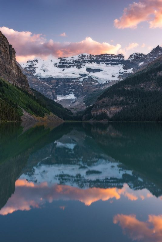 Lake Louise, one of the best locations for landscape photography in Canada