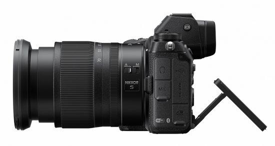 Nikon Z7 Mirrorless Camera Side View
