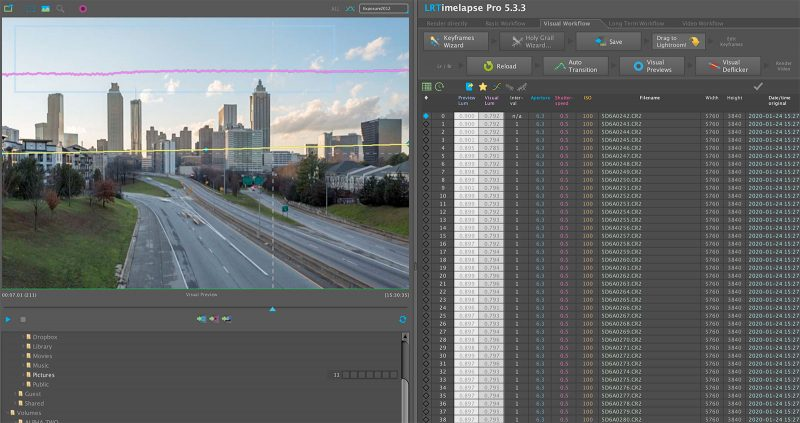 how to shoot a time-lapse video