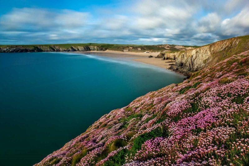Holywell Bay, Cornwall, UK