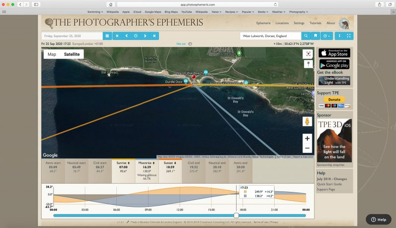 The Photographer's Ephemeris App