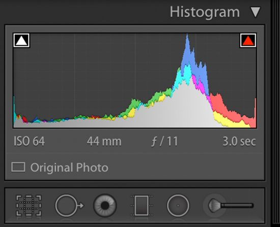 Clipping alerts lightroom