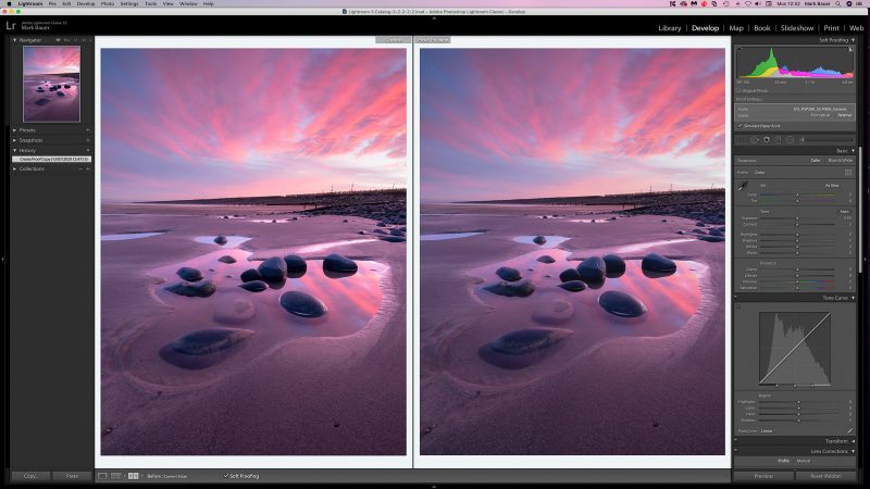 Create Proof Copy for Print in Lightroom
