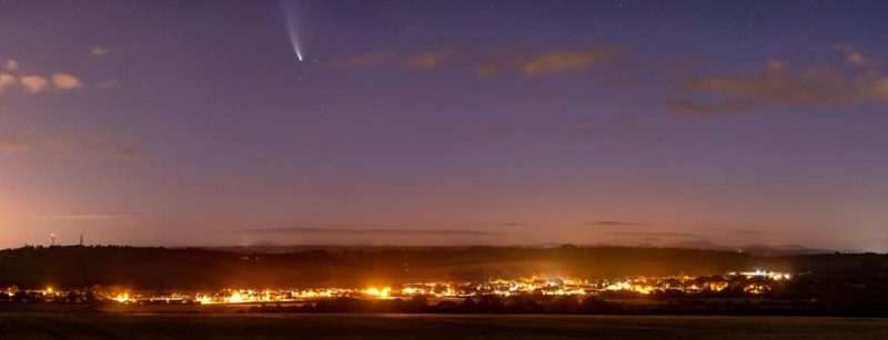 Comet Neowise in Ireland