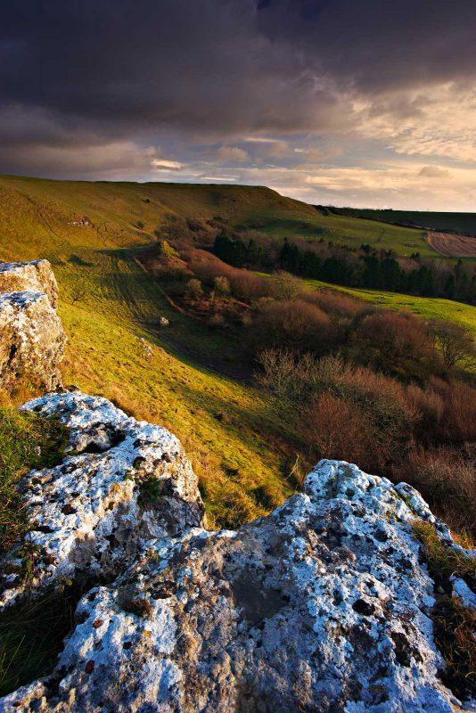 landscape photography from eye level