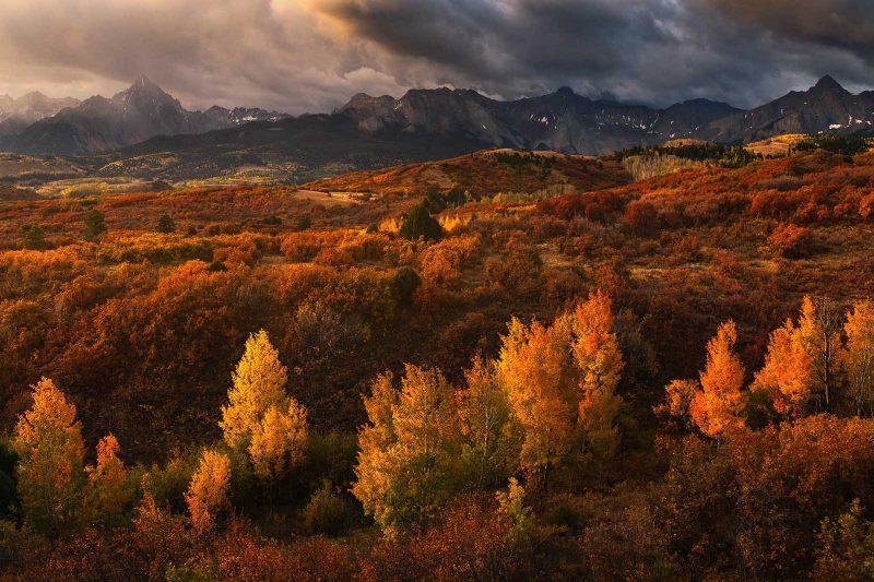 Fall landscape loaction