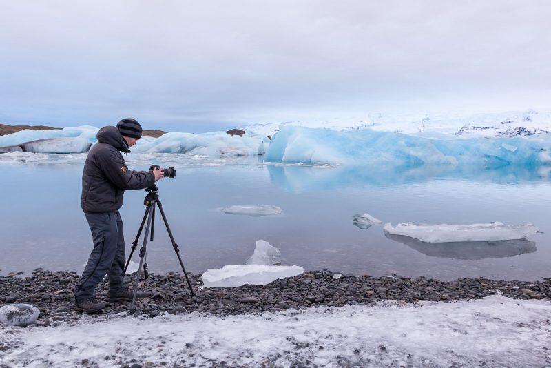 Landscape Photographer and equipment
