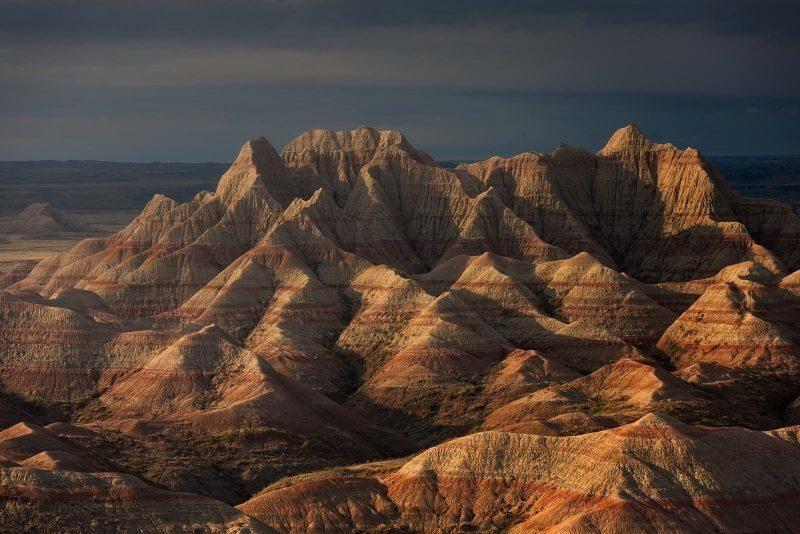 Desert hill landscape