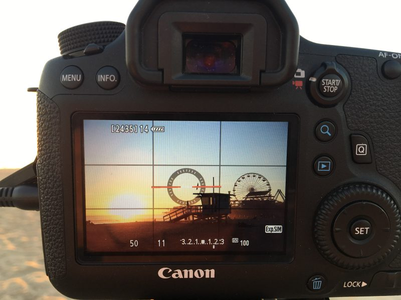 Canon sunset timelapse