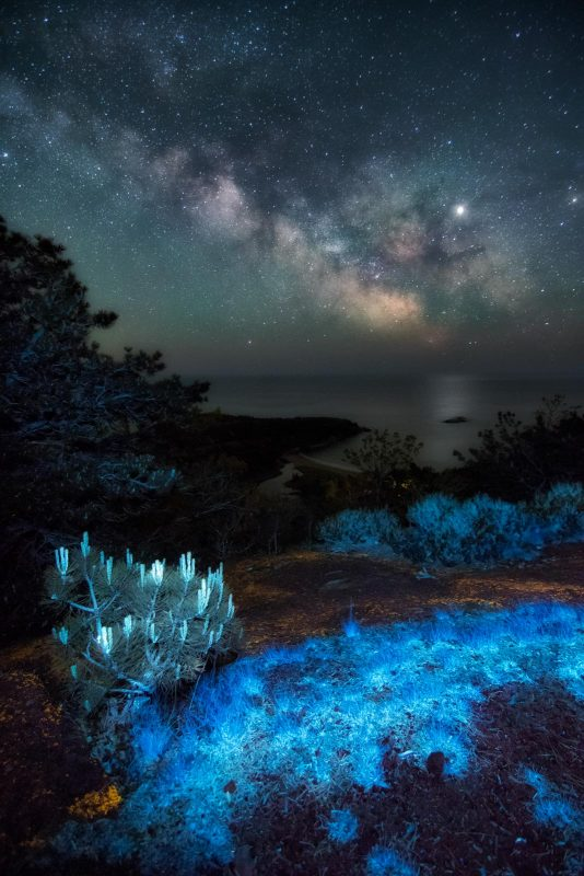 Milky way and UV landscape