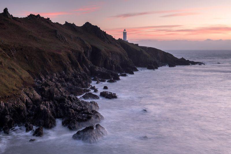 Landscape of Start Point, Devon