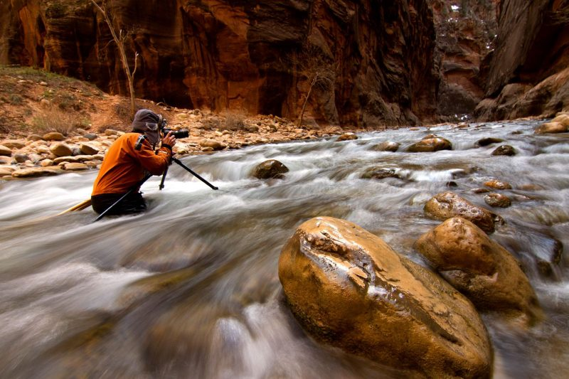 Photographing the Narrows, Zion National Park