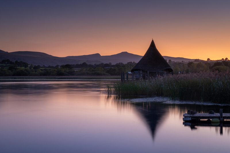 Llangorse Lake Brecon Beacons