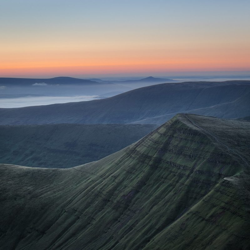 Brecon Beacons in Wales