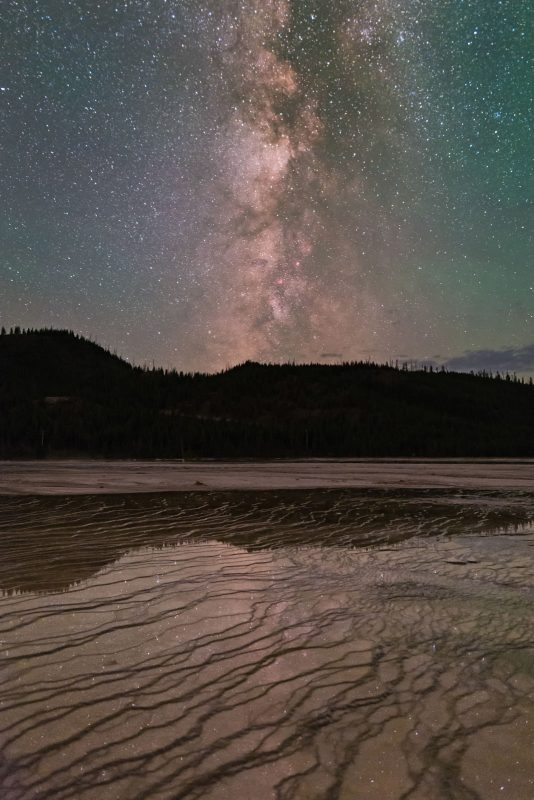 Milky Way and reflection